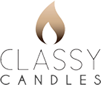 Classy Candles Online - Grey Stripes - Unique, Custom, Personalised Candles & Gift Ideas - Wedding Candles, Baptism Candles, Memorial Candles, Family Gifts & Keepsakes.